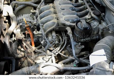 old engine repair #1363241036
