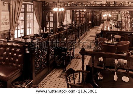 Old English Taverns http://www.shutterstock.com/pic-21365881/stock-photo-old-english-bar.html