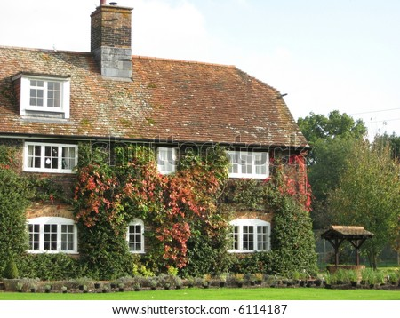 Old English cottage, New Forest, Hampshire