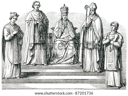 stock-photo-old-engravings-depicts-the-catholic-hierarchy-the-book-history-of-the-church-circa-87201736.jpg