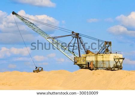 old excavator