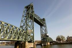 Old famous and monumental Koningshavenbrug (
