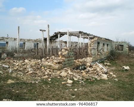 old farm ruins
