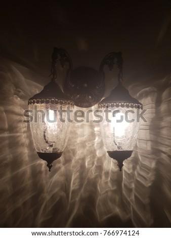 Old fashion lantern #766974124