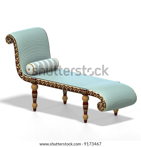 Old fashioned couch or sofa with clipping path stock photo for Old fashioned couch