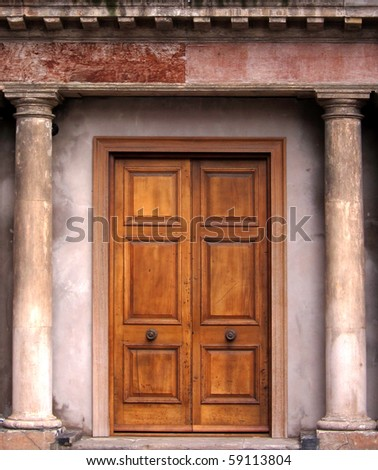 Incroyable Old Fashioned Door