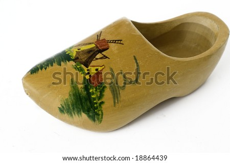 Old fashioned Dutch Clog shoe