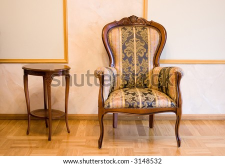 Old fashioned furniture stock photo 3148532 shutterstock for Old fashioned couch