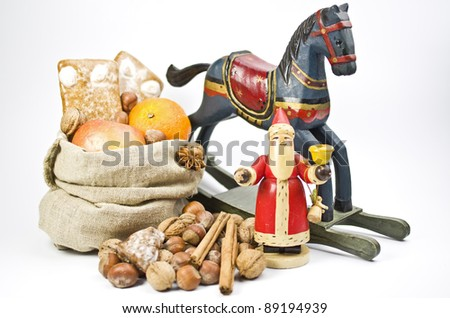 Old-fashioned gifts on St. Nicholas Day