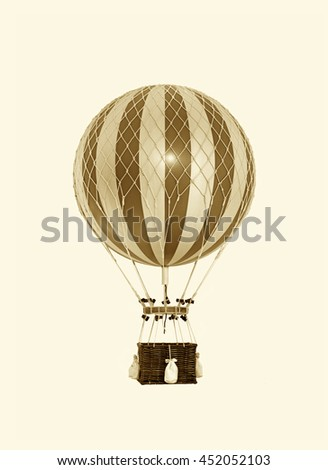 Old fashioned helium balloon