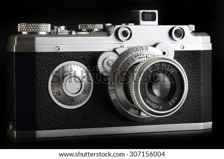 Old film camera model #307156004