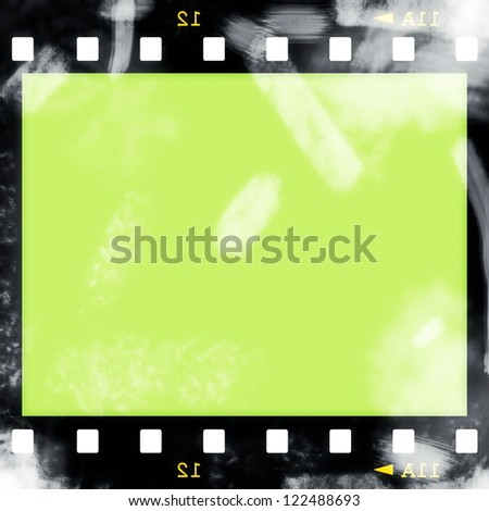 Old film strip background, texture
