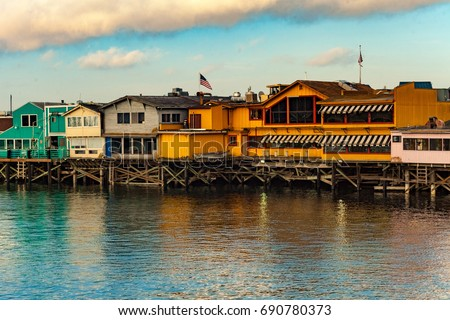 Old Fisherman's Wharf Monterey California