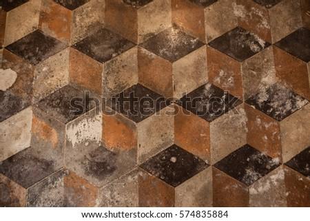 Old floor.