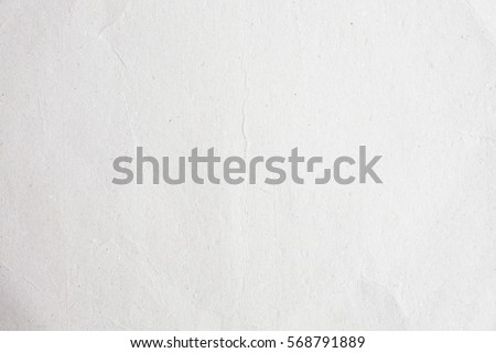 Old fold eco matt paper bag background texture in white light concept for plain rice page drawing, crease newspaper paint, Simplicity grain back table wall surface pattern for luxury fade tear.
