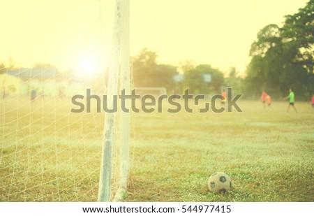 old football vintage...
