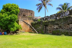 Old Fort Stone town Zanzibar.