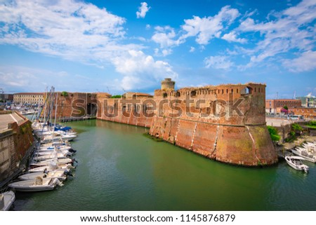 Old fortress of Livorno, Tuscany, Italy #1145876879