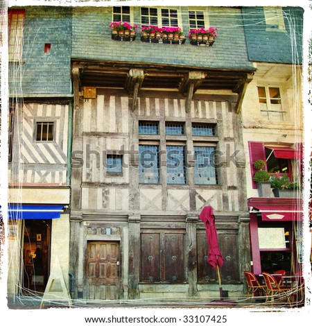 old french architecture  ...