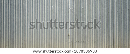 Old galvanized sheet wall with rust background Сток-фото ©