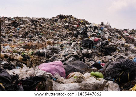 Old garbage and household waste Recycled or re-usable waste. At the same time, it is a difficult to digest waste. It requires storage space or high investment in disposal or disposal.  #1435447862