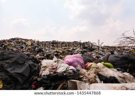 Old garbage and household waste Recycled or re-usable waste. At the same time, it is a difficult to digest waste. It requires storage space or high investment in disposal or disposal.  #1435447868