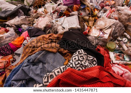 Old garbage and household waste Recycled or re-usable waste. At the same time, it is a difficult to digest waste. It requires storage space or high investment in disposal or disposal.  #1435447871