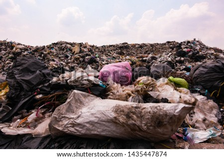 Old garbage and household waste Recycled or re-usable waste. At the same time, it is a difficult to digest waste. It requires storage space or high investment in disposal or disposal.  #1435447874