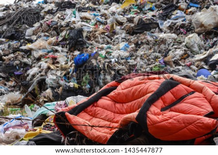 Old garbage and household waste Recycled or re-usable waste. At the same time, it is a difficult to digest waste. It requires storage space or high investment in disposal or disposal.  #1435447877
