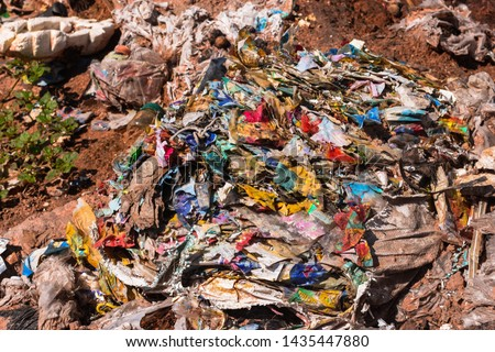 Old garbage and household waste Recycled or re-usable waste. At the same time, it is a difficult to digest waste. It requires storage space or high investment in disposal or disposal.  #1435447880