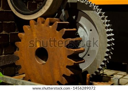 Old gears, Big Gears, Rusty Gear