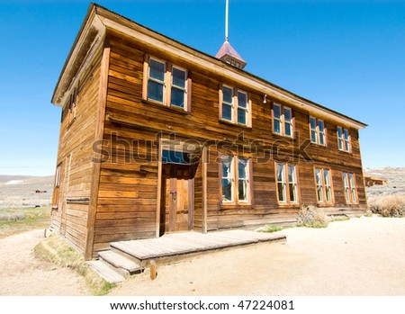 old ghost town school