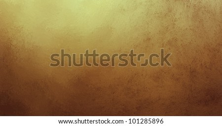 old gold background with brown color border and vintage grunge background texture abstract design for website template background layout banner or old vintage paper or warm vintage background wall
