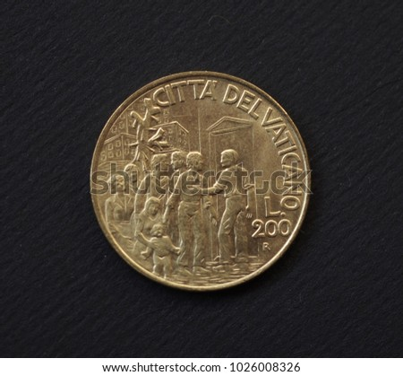 old golden coin issued by...