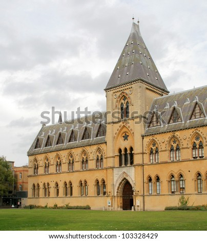 Old Gothic Building in Oxford, United Kingdom