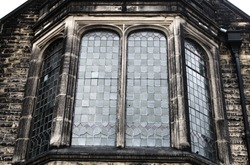 old gothic church cathedral window