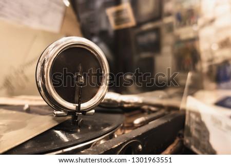Old gramophone needle #1301963551