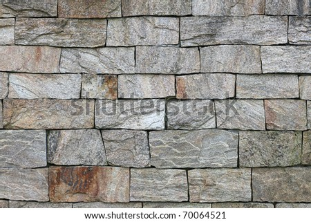 old granite stone wall texture