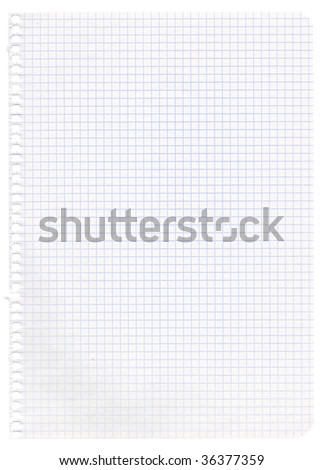 Old graph paper. Very High Resolution