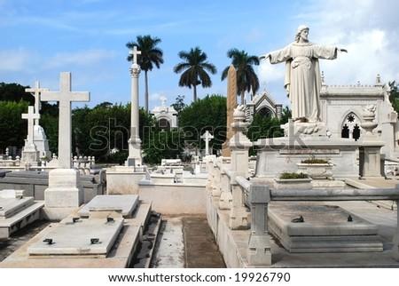 Old graveyard, Havana