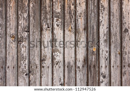 old gray wooden plank wall