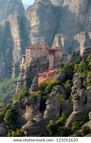 Old greek church. Meteora, Greece.