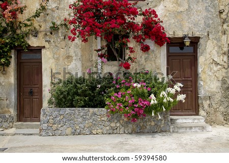 old greek doors