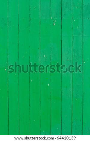 old green colored wooden plank surface