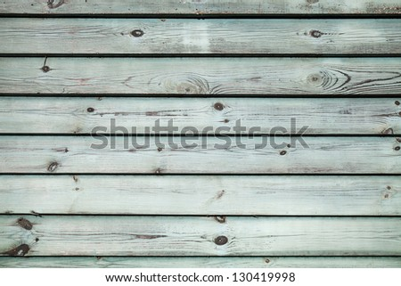 Old green wooden wall background texture