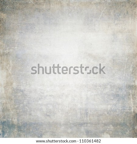 old grey/blue grunge paper background texture