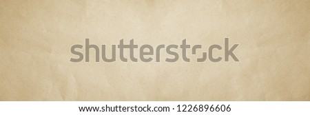 Old grey eco drawing paper kraft wide screen background texture in soft white light color concept for banner page wallpaper design, gray rice matte pattern for decorative wall.