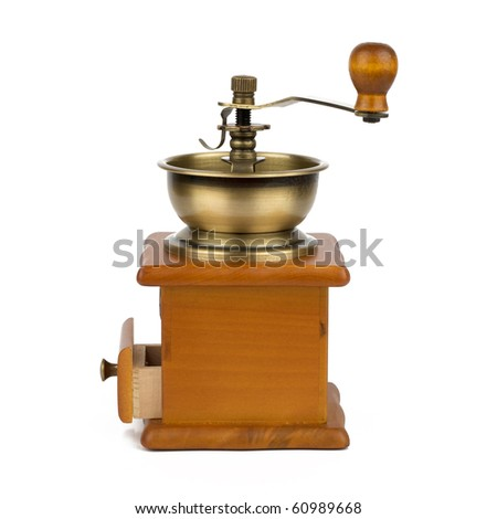 Old grinder - stock photo