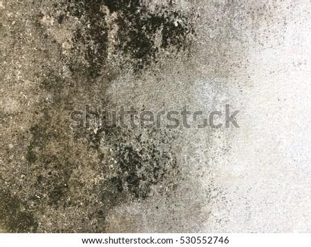 Old grunge background, dirty dark cement wall texture