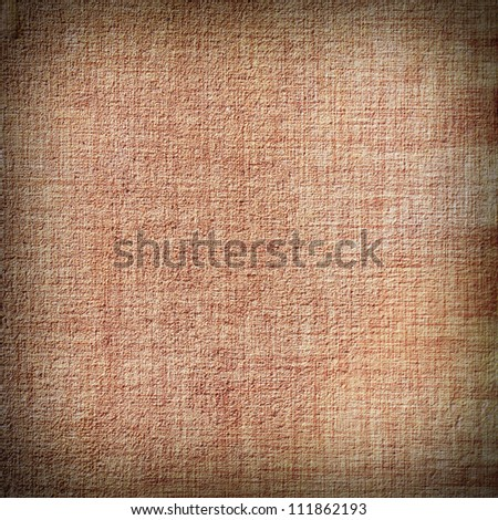 old, grunge background texture in orange. Dark edged